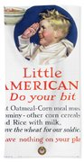 Little Americans Do Your Bit Beach Towel