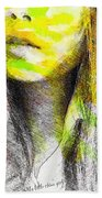 Little China Girl Beach Towel