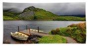 Llyn Y Dywarchen, Rhyd Ddu Snowdonia Beach Towel