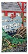 Lobster Pond Restaurant In Halls Harbour Ns Beach Towel