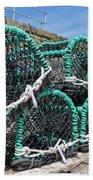 Lobster Pots Beach Towel