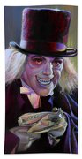 Lon Chaney In London After Midnight Beach Towel