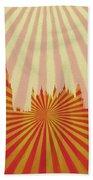 London Pop Art Beach Towel