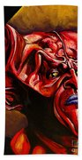 Lord Of Darkness Beach Towel