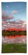 Lost Lake Sunset Beach Towel