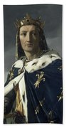 Louis Viii, King Of France Beach Towel