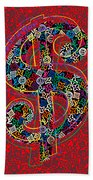 Louis Vuitton Dollar Sign-7 Beach Towel