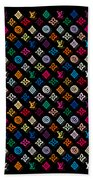 Louis Vuitton Monogram-4 Beach Towel