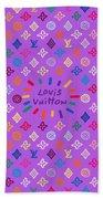 Louis Vuitton Monogram-5 Beach Towel