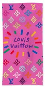 Louis Vuitton Monogram-9 Beach Towel