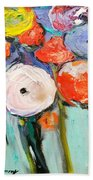 Love Of Poppies Beach Towel