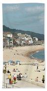 Lyme Regis Beach Beach Towel