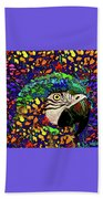 Macaw High II Beach Towel