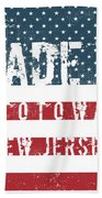 Made In Totowa, New Jersey #totowa Beach Towel