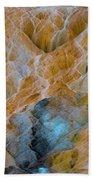 Mammoth Hot Springs Beach Towel by Mae Wertz