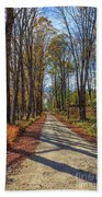 Maple Lane Old Fairgrounds Road Nh Beach Towel