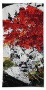Maple Tree 2 201908 Bonsai Penjing Museum National Arboretum Beach Towel