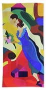 Marc And Bella Chagall Beach Towel