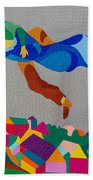 Mark And Bella Chagall Above The City Beach Towel