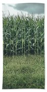 Maze Field Beach Towel