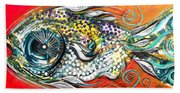 Mediterranean Fish Beach Towel