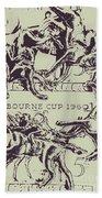 Melbourne Cup 1960 Beach Sheet