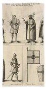 Members Of The Order Of Christ  Beach Towel
