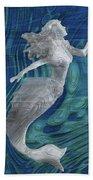 Mermaid - Beneath The Waves Series Beach Towel