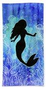 Mermaid Under Water Beach Towel
