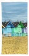 Mersea Island Beach Huts, Image 3 Beach Towel