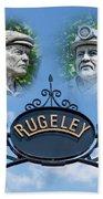 Miners Of Rugeley Beach Towel