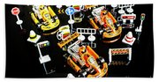 Miniature Motorsports Beach Towel