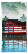 Miyajima In The Mist - Digital Remastered Edition Beach Towel