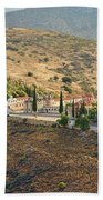 Monastery Agion Anargiron Above Argos Beach Towel