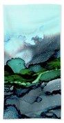 Moondance Iv Beach Towel by Kathryn Riley Parker