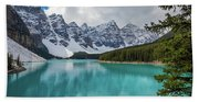 Moraine Lake Range Beach Towel
