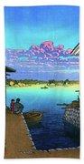 Morning In Yobuko, Hizen - Digital Remastered Edition Beach Towel