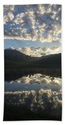 Morning Refection Beach Towel