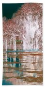 Mother Willow Altered Infrared Beach Towel