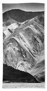 Mountains At Pangong Beach Towel by Whitney Goodey