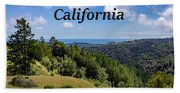 Muir Woods National Monument California Beach Towel