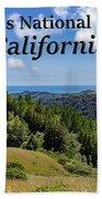 Muir Woods National Monument California Beach Sheet