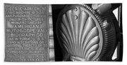 Mutoscope Fine Art Dual Image Beach Sheet