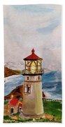 My Lighthouse Beach Towel