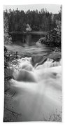 Myllykoski Bw Panorama Beach Towel