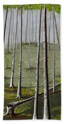 Naked Forest Beach Towel