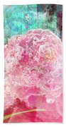 Nano Flower Bud Beach Towel