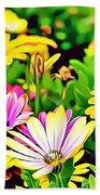 Naturalness And Flowers 35 Beach Towel