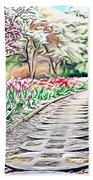 Naturalness And Flowers 36 Beach Sheet