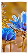 Naturalness And Flowers 47 Beach Sheet